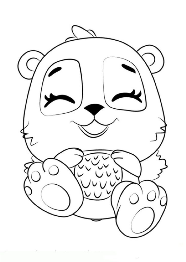 pinnadine murphy on hatchimals  baby coloring pages