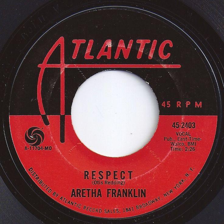 Music analysis on respect by aretha franklin