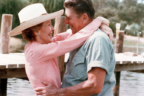 Ronald et Nancy Reagan, une grande histoire d'amour