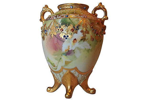 Nippon Jeweled Orchid Vase On Onekingslane Com Home