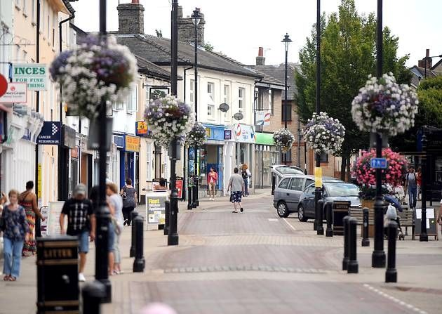 "This is my home town ""Stowmarket"" that I spent my first 22 years in, before moving out to New Zealand."