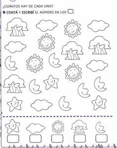 actividades para preescolar   pintar y jugar, dibujos para jugar