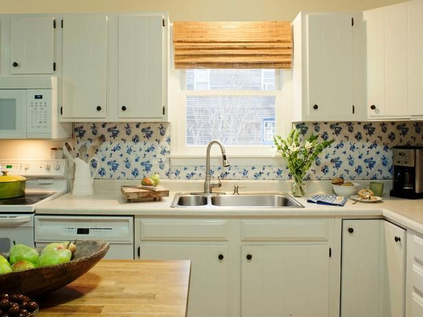 Good Budget Backsplash Project: Vintage Vinyl