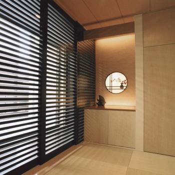 モダン和室のインテリア<ラグジュアリーなデザイン住宅(兵庫県尼崎市)|フリーダム設計