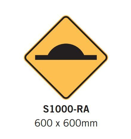 Car Park Signs- Speed hump sign - Spacepac Industries