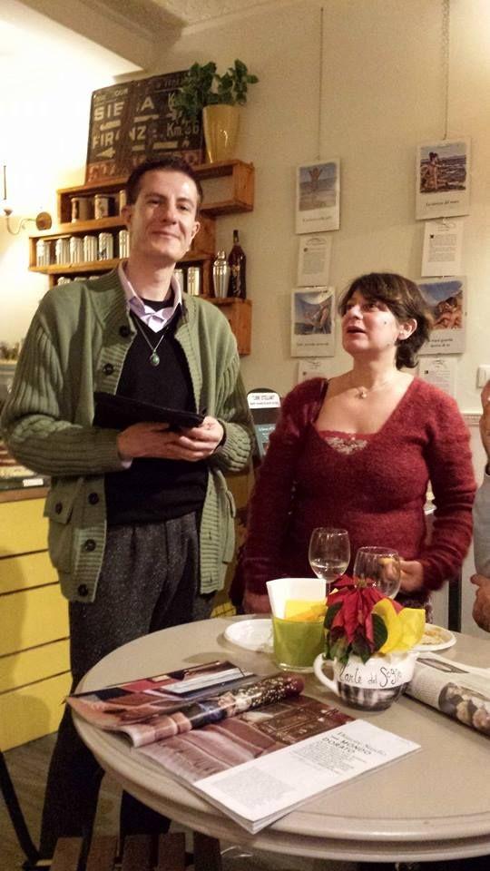 Fabien de La Noisette e madame Paulette.  http://www.messaggidallestelle.altervista.org