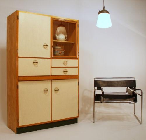 Art Deco Kitchen Cabinets: 30s KITCHEN CABINET KÜCHENBUFFET BAUHAUS ART DECO !RARE