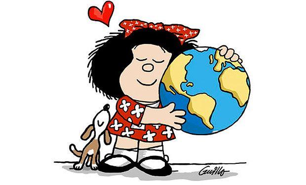 Los 50 años de Mafalda: sus 10 mejores frases y cinco homenajes artísticos | Cultura | LA TERCERA