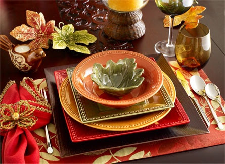 Thanksgiving:  place-setting ideas