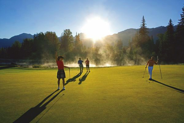 Anyone up for some summertime golf in Whistler? :)