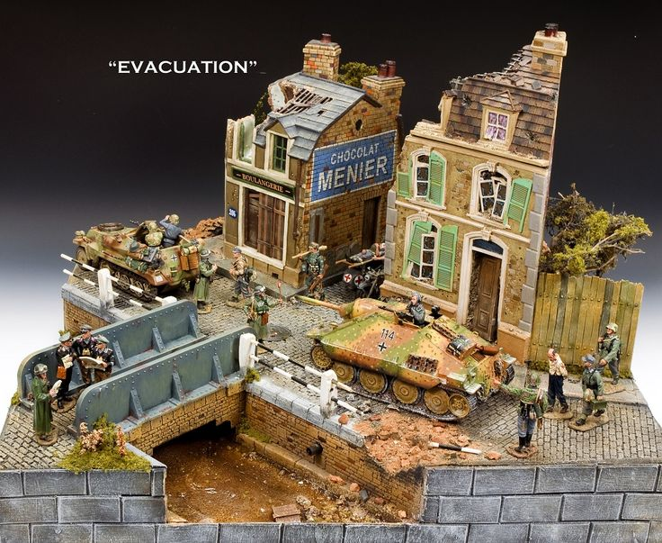 A Bridge… A Canal… And a Couple of Buildings! Diorama by ...