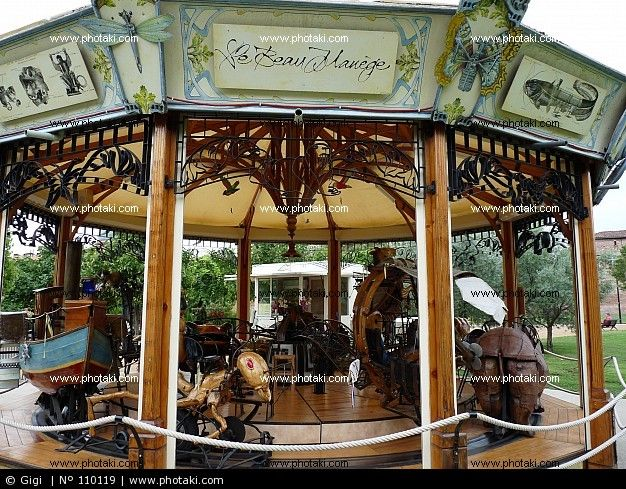Carousel: Created by Francois Delaroziere