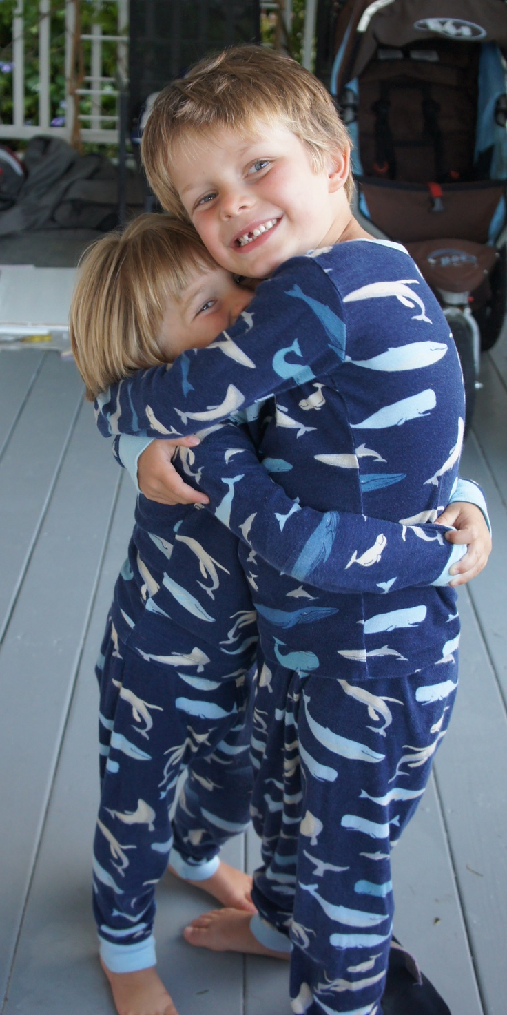 Hatley pajamas- the very best jammies I've ever found.