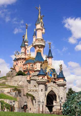 Disneyland Paris. My cousin was on the lighting engineering team.