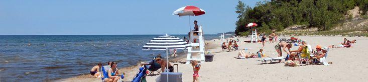 Sandy Island Beach State Park in Oswego County!