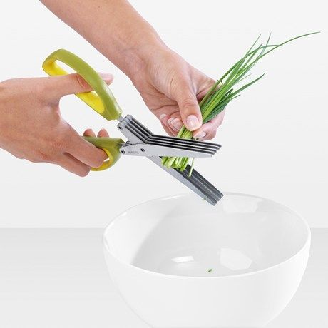 En rask og smidig snarvei til friske, finhakkede urter!