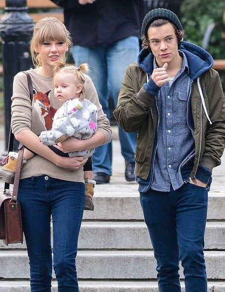 Taylor Swift and Harry Styles Together in Central Park 2