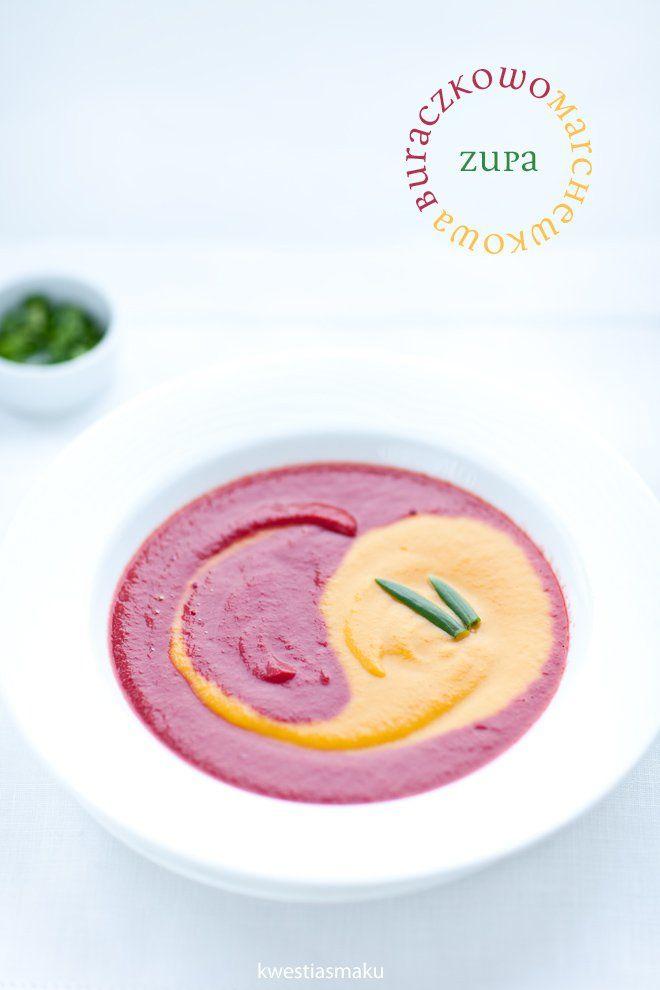 zupa marchewkowa, zupa buraczkowa