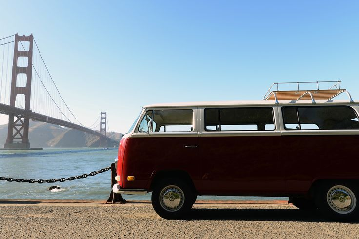 Tour SF in a vintage Volkswagen. 14 famed districts, complete with views of Alcatraz, the Golden Gate Bridge, Twin Peaks and several other storied landmarks. Along the way, we'll share tales of earthquakes that shaped the landscape, industrial shifts from the 1849 Gold Rush to the rise of Silicon Valley,