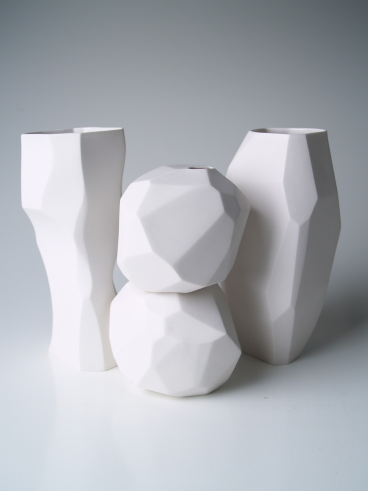 Vases  Porcelain  www.gdgstudios.com