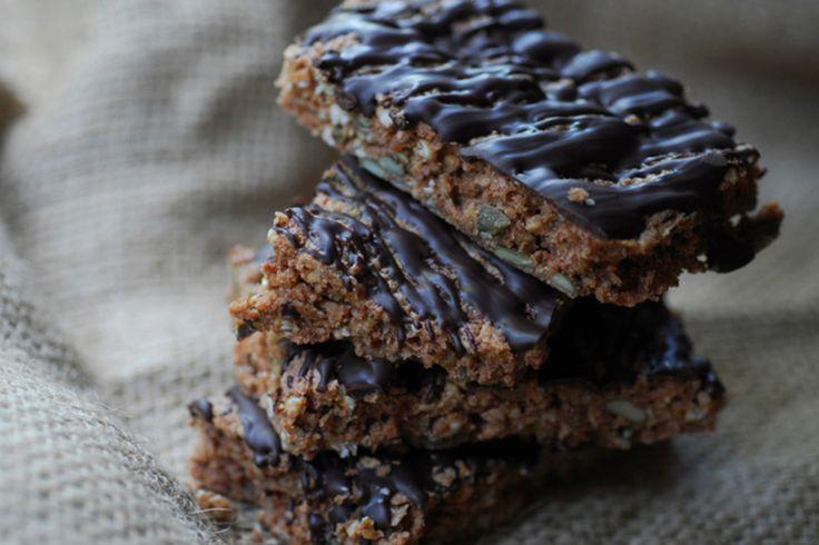 Chocolate Coated Buckwheat bars