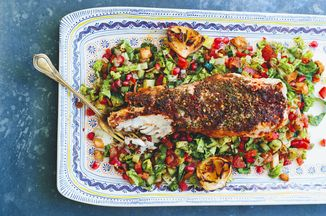 Sumac & Za'atar Roasted Monkfish Recipe on Food52