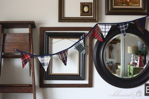 Burns Night Tartan bunting