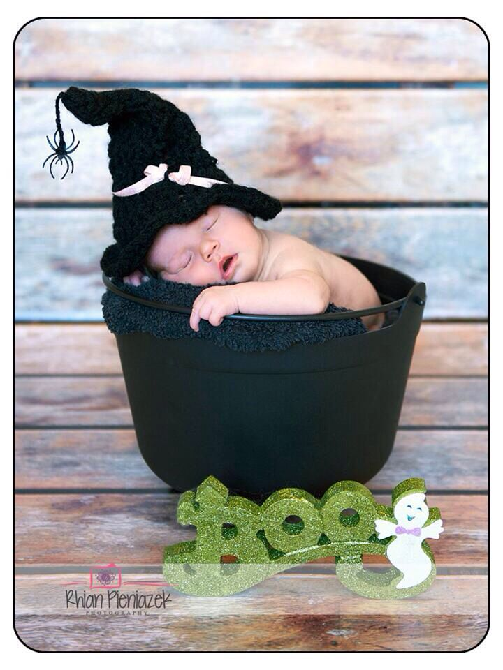 Little newborn witch
