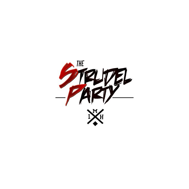The Strudel Party - M.I.H. Logo