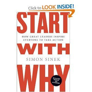 Start with Why: How Great Leaders Inspire Everyone to Take Action (by Simon Sinek)