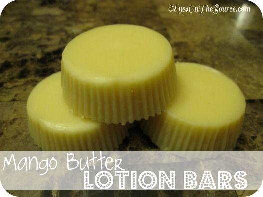Mango Butter Lotion Bars
