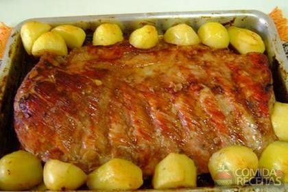 Receita de Costelinha de porco assada especial em receitas de carnes, veja essa e outras receitas aqui!