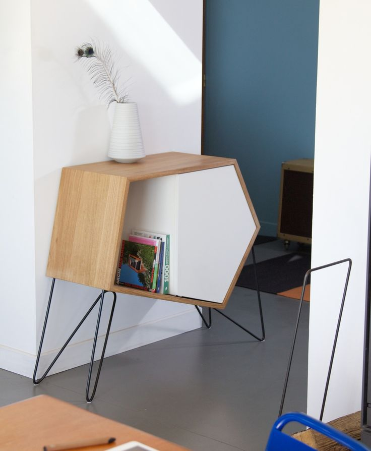 10 best bois metal images on Pinterest Chairs, Benches and Folding - meuble vide poche design