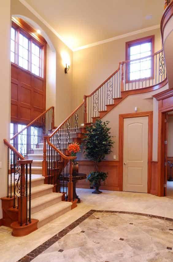 Painted Foyer Cabinets : Best oak wood trim ideas on pinterest entryway paint