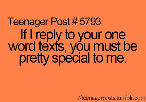 um....... if someone replies you with a one word text, you send them the longest text you can think of to annoy the shit out of them. or you don't reply at all. the end.