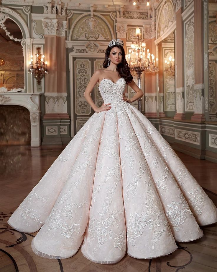 Kind-Hearted 2019 New Tube Top Crystal Lace Sweetheart Luxury Wedding Dress 2019 Bridal Dress Gown Bridal Dresses Vestido De Novia Plus Size Weddings & Events