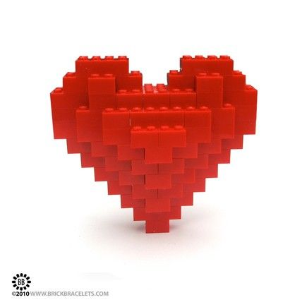 LEGO Sculpture - Heart