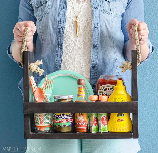 DIY Condiment Caddy- Makely School for Girls