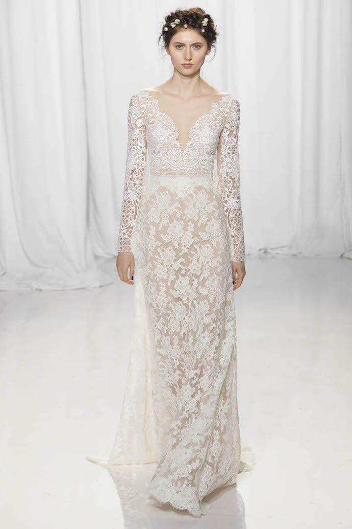 489 best Long Sleeved Wedding Dresses images on Pinterest | Austria ...