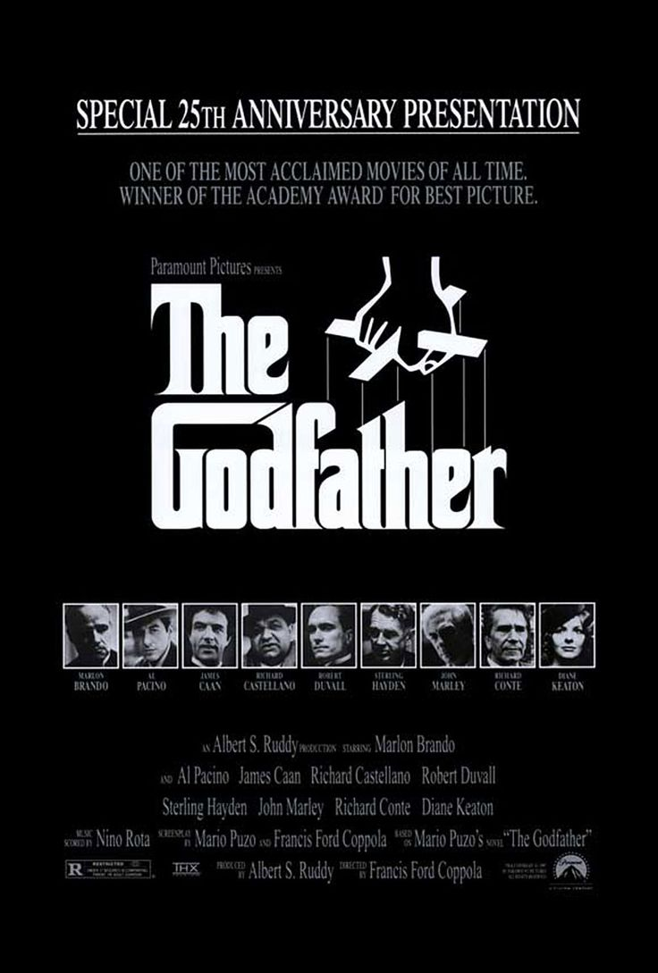 The Godfather Trilogy (1901-1980) ♥♥♥♥♥ The multigenerational saga of the rise and fall of the Corleone crime family