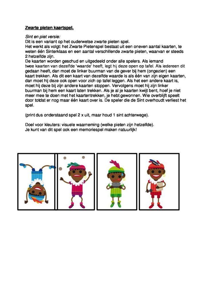 * Zwarte Pieten kaartspel! 2-2