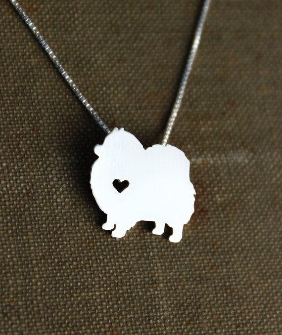 Hey, I found this really awesome Etsy listing at https://www.etsy.com/listing/167276650/pomeranian-necklace-sterling-silver-hand