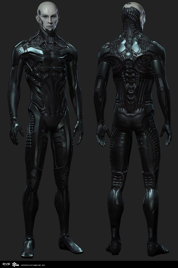 The Drifter male from EVE Online. This is the highpoly head rendered with displacement map in 3ds Max using Vray. The armor is just decimated for this.  Costume concept art by Lúðvík Kalmar Víðisson and art direction by Ásgeir Jón Ásgeirsson.