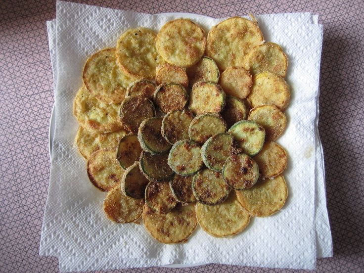 Fried squash and zucchini, these are so good! A easy way to eat some vegetables.