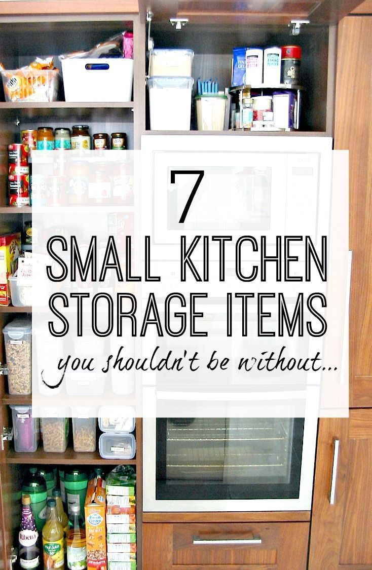 7 Essential Small Kitchen Storage Items You Should Own In 2020