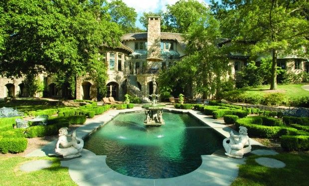 Beautifully restored Bernardsville estate: By far the most popular home in New Jersey on Zillow is this 15-acre estate built in 1896 as the summer home of Robert LIvingston Stevens, who founded Hoboken's Stevens Institute of Technology.