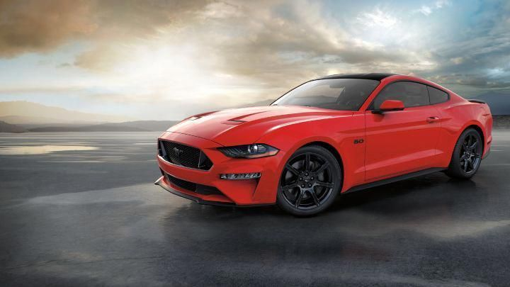 2018 Ruby Red Mustang Gt Coupe Mustangclassiccars Mustang