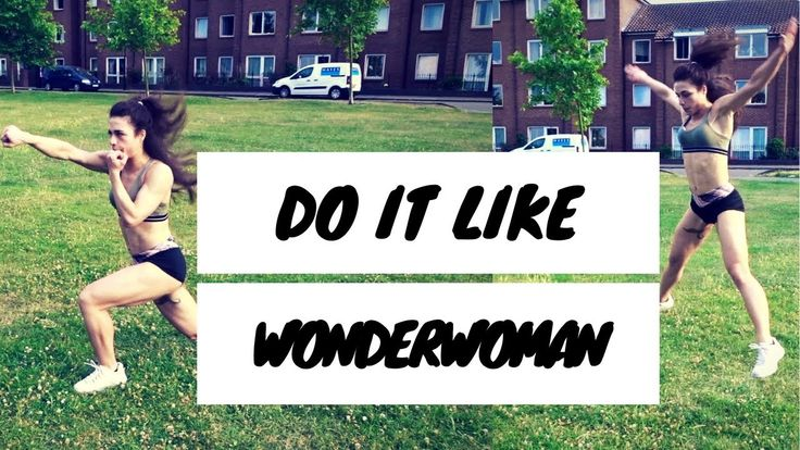 TRAIN LIKE  WONDERWOMAN Hey guys !!! Happy Saturdeeeeyyyy ! Here is how you can get lean and strong like Wonderwoman. This workout is for everyone that wants to get fit, loves health and exercise and is wondering how to lose weight fast !