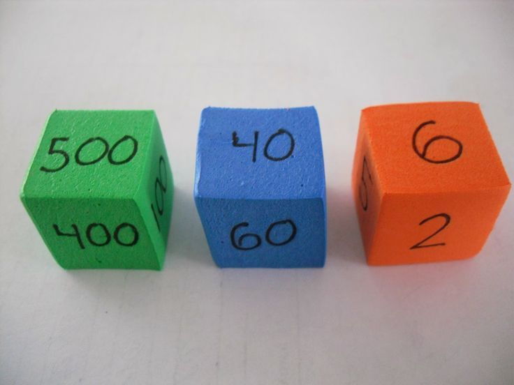 Make your own DIY Number dice. The possibilities are endless.