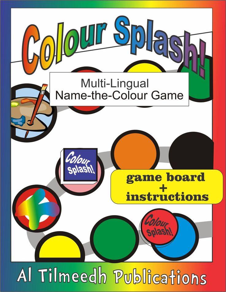 www.arabicplayground.com Color Splash Board Game (Multilingual)